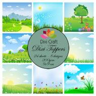 Dixi Craft Toppers ET0291