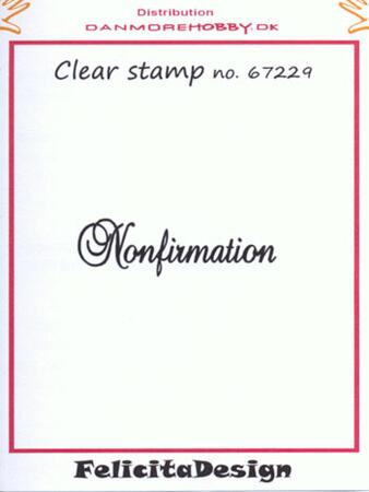 Stempel Felicita design Nonfirmation