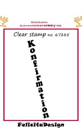 Stempel Felicita design Konfirmation