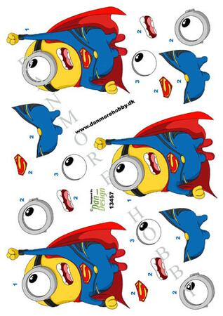 3D ark Minion superman