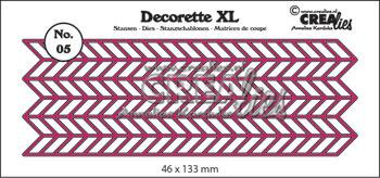 Dies Crealies Decorette XL 05 CLDRXL05
