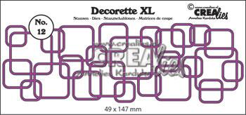 Dies Crealies Decorette XL 12 CLDRXL12