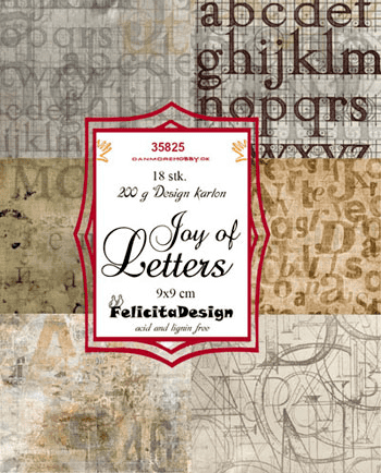 Felicita Design Toppers Joy of letters 18ark