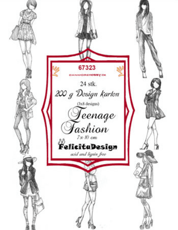 Felicita Design Toppers Teenage fashion 24ark