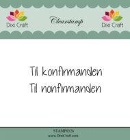Stempel Dixi craft STAMP0126