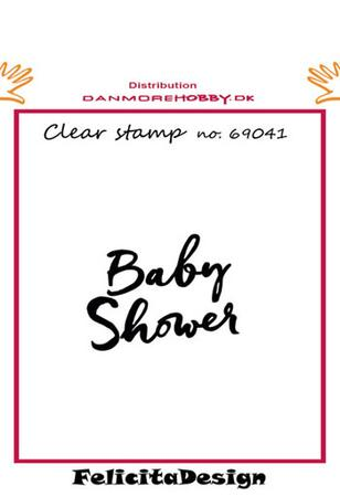 Felicita design Stempel, Baby shower