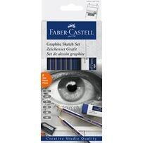 Faber-Castell Goldfaber Sketch set, graphite