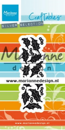 Dies MARIANNE DESIGN CR1476 Punch die: Holly