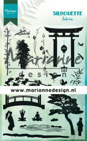 Stempel MARIANNE DESIGN CLEARSTAMP CS1033 Silhouette