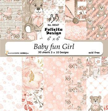 Baby fun girl Ark 6' x 6' 200g 30ark 3x10design