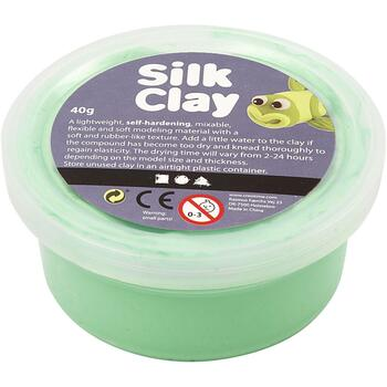 Silk Clay 40gr. l.grøn
