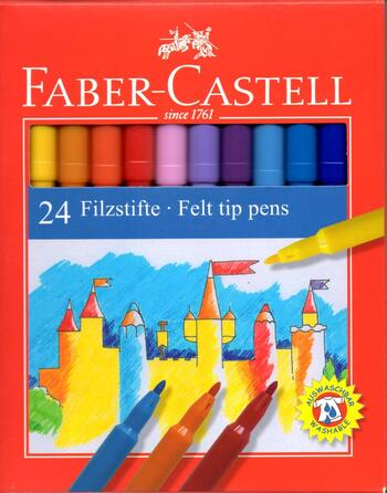 Faber-Castell Tusch 24farver