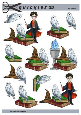 3D ark Quickies Harry Potter