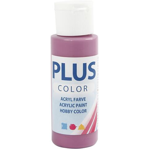 Plus color rød plum 60ml