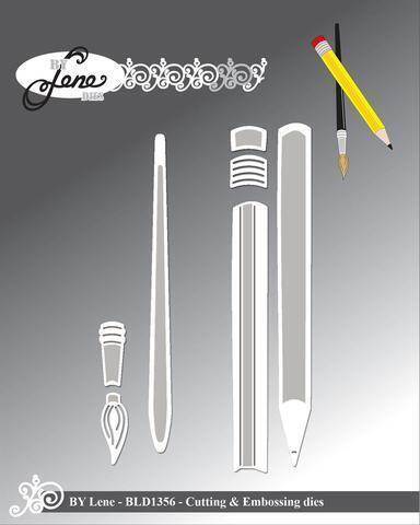 "BY LENE DIES ""Pencils"" BLD1356"