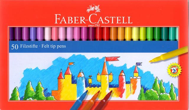 Faber-castell Tusch 50farver colour marker