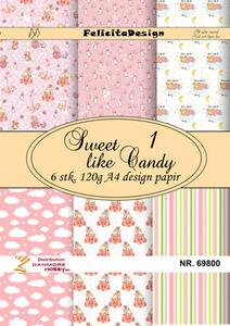 Felicita design A4, Sweet like candy 1